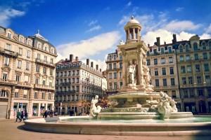 La fontaine de la Place des Jacobins, Lyon